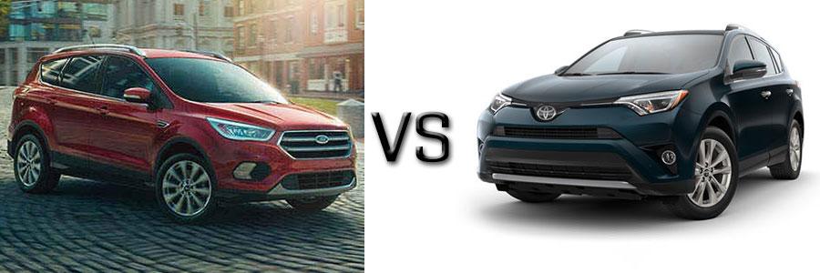 2017 Ford Escape vs Toyota RAV4
